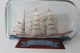 Navire à voile allemand en bouteille. Source : http://data.abuledu.org/URI/51dbf72d-navire-a-voile-allemand-en-bouteille