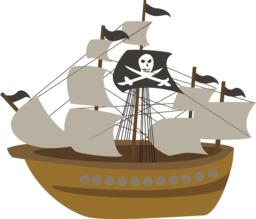 Navire de pirate. Source : http://data.abuledu.org/URI/58334734-navire-de-pirate