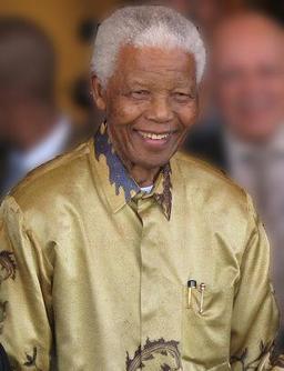 Nelson Mandela en 2008. Source : http://data.abuledu.org/URI/52acaadf-nelson-mandela-en-2008