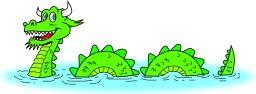 Nessie, le monstre du Loch Ness. Source : http://data.abuledu.org/URI/520b4e76-nessie-le-monstre-du-loch-ness