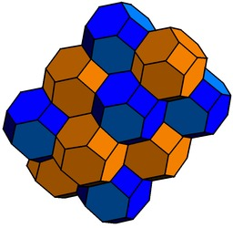 Nid d'abeille cubique bitronqué. Source : http://data.abuledu.org/URI/51e06322-nid-d-abeille-cubique-bitronque