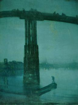 Nocturne en bleu et or sur la Tamise. Source : http://data.abuledu.org/URI/528d6b4a-nocturne-en-bleu-et-or-sur-la-tamise