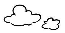 Deux nuages. Source : http://data.abuledu.org/URI/50a25654-nuages