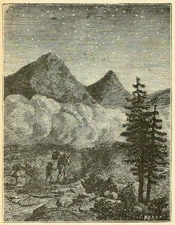 Nuages en montagne. Source : http://data.abuledu.org/URI/524eaf7d-nuages-en-montagne