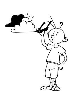 Nuages et soleil. Source : http://data.abuledu.org/URI/5026e268-nuages-et-soleil