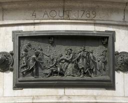 Nuit du 4 août 1789 et abolition des privilèges. Source : http://data.abuledu.org/URI/53e1ebde-nuit-du-4-aout-1789-et-abolition-des-privileges