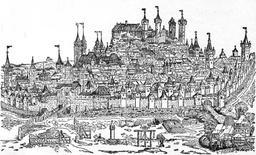 Nuremberg en 1493. Source : http://data.abuledu.org/URI/5295284c-nuremberg-en-1493