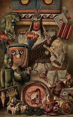 Objets d'Amérique du sud et du Mexique. Source : http://data.abuledu.org/URI/53ca7cc4-objets-d-amerique-du-sud-et-du-mexique