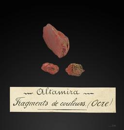Ocre préhistorique. Source : http://data.abuledu.org/URI/549dd209-ocre-prehistorique