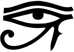 Oeil d'Horus. Source : http://data.abuledu.org/URI/50c4a280-oeil-d-horus