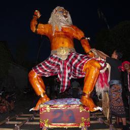 Ogoh-ogoh à Bali. Source : http://data.abuledu.org/URI/58dd2844-ogoh-ogoh-a-bali