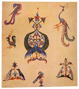 Oiseaux fantastiques arméniens. Source : http://data.abuledu.org/URI/5357e771-oiseaux-fantastiques-armeniens