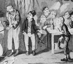 Oliver Twist et sa bande de voleurs. Source : http://data.abuledu.org/URI/520bf6dd-oliver-twist-et-sa-bande-de-voleurs
