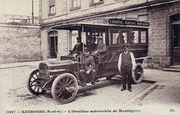 Omnibus automobile de Montlignon. Source : http://data.abuledu.org/URI/51562cbd-omnibus-automobile-de-montlignon