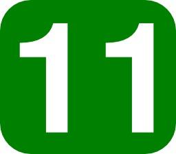 Onze blanc sur fond vert. Source : http://data.abuledu.org/URI/53729007-onze-blanc-sur-fond-vert