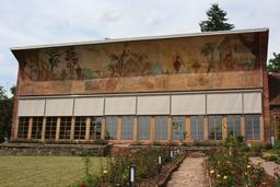 Orangerie de l'abbaye de Bronnbach. Source : http://data.abuledu.org/URI/52b60eec-orangerie-de-l-abbaye-de-bronnbach