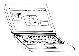 Ordinateur portable. Source : http://data.abuledu.org/URI/5026f909-ordinateur-portable