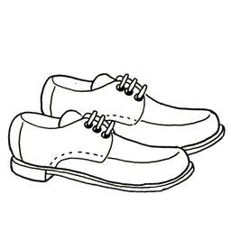 Paire de chaussures à lacets. Source : http://data.abuledu.org/URI/52d7042b-paire-de-chaussures-a-lacets