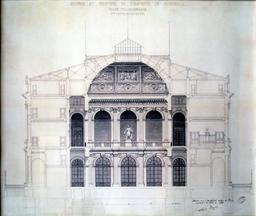 Palais de la Bourse de Marseille. Source : http://data.abuledu.org/URI/5651f62b-palais-de-la-bourse-de-marseille-en-1840