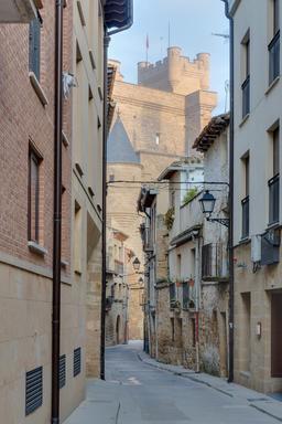 Palais des rois de Navarre à Olite. Source : http://data.abuledu.org/URI/572bad39-palais-des-rois-de-navarre-a-olite