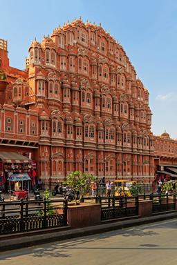 Palais des vents à Jaipur. Source : http://data.abuledu.org/URI/58cee632-palais-des-vents-a-jaipur