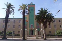 Palais du Gouverneur d'Asmara en Érythrée. Source : http://data.abuledu.org/URI/55364fb8-palais-du-gouverneur-d-asmara