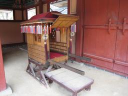 Palanquin coréen. Source : http://data.abuledu.org/URI/52107304-palanquin-coreen