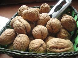 Panier de noix avec casse-noix. Source : http://data.abuledu.org/URI/5278669e-panier-de-noix-avec-casse-noix