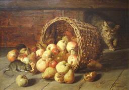 Panier de pommes renversé. Source : http://data.abuledu.org/URI/52ec3a28-panier-de-pommes-renverse