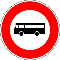 Panneau d'interdition aux transports en commun. Source : http://data.abuledu.org/URI/51376c98-panneau-d-interdition-aux-transports-en-commun
