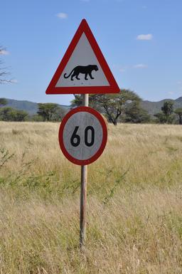 Panneau de risque de léopards. Source : http://data.abuledu.org/URI/51379fcb-panneau-de-risque-de-leopards