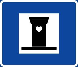 Panneau de signalisation suédois. Source : http://data.abuledu.org/URI/53619b00-panneau-de-signalisation-suedois