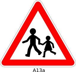 Panneau routier A13a. Source : http://data.abuledu.org/URI/51a119b2--panneau-routier-a13a