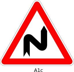 Panneau routier A1c. Source : http://data.abuledu.org/URI/51a11a82--panneau-routier-a1c
