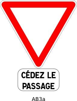Panneau routier AB3a. Source : http://data.abuledu.org/URI/51a209a3--panneau-routier-ab3a