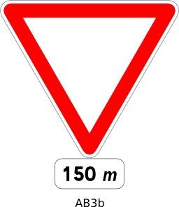 Panneau routier AB3b. Source : http://data.abuledu.org/URI/51a209b4--panneau-routier-ab3b