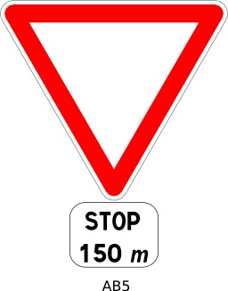 Panneau routier ab5. Source : http://data.abuledu.org/URI/51a209d8--panneau-routier-ab5