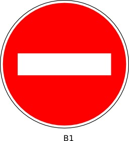 Panneau routier b1. Source : http://data.abuledu.org/URI/51a11fb9--panneau-routier-b1