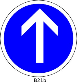 Panneau routier B21b. Source : http://data.abuledu.org/URI/51a12014--panneau-routier-b21b