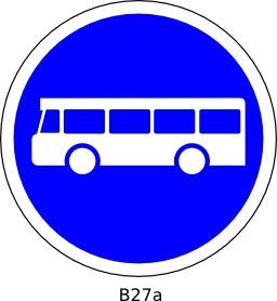 Panneau routier B27a. Source : http://data.abuledu.org/URI/51a120b7--panneau-routier-b27a