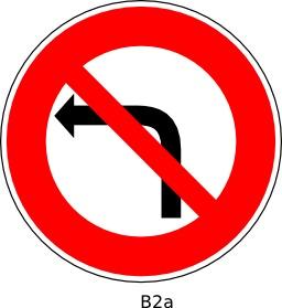 Panneau routier B2a. Source : http://data.abuledu.org/URI/51a120c6--panneau-routier-b2a