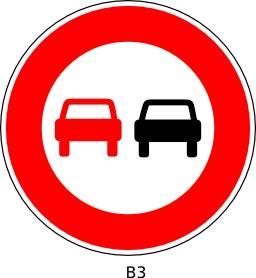 Panneau routier b3. Source : http://data.abuledu.org/URI/51a12164--panneau-routier-b3