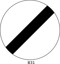 Panneau routier b31. Source : http://data.abuledu.org/URI/51a120fd--panneau-routier-b31
