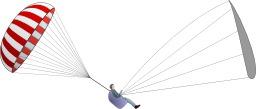 Parachute de secours - effet miroir. Source : http://data.abuledu.org/URI/5399cf6b-parachute-de-secours-effet-miroir