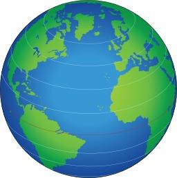 Parallèles sur un globe. Source : http://data.abuledu.org/URI/56d01128-paralleles-