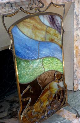 Paravent au musée de l'école de Nancy. Source : http://data.abuledu.org/URI/5818f394-paravent-au-musee-de-l-ecole-de-nancy