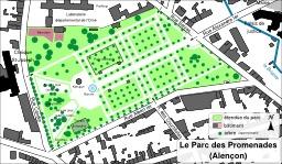 Parc des Promenades à Alençon. Source : http://data.abuledu.org/URI/51d0a4eb-parc-des-promenades-a-alencon