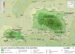 Parcs nationaux en Tanzanie. Source : http://data.abuledu.org/URI/51cde75d-parcs-nationaux-en-tanzanie