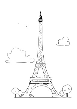 Paris Tour Eiffel. Source : http://data.abuledu.org/URI/5027623b-paris-tour-eiffel