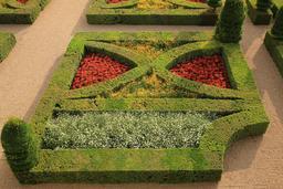 Parterre de broderie aux Jardins de Villandry. Source : http://data.abuledu.org/URI/55e6f28c-parterre-de-broderie-aux-jardins-de-villandry